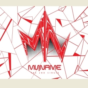 myname-2nd-single-album-cd-poster